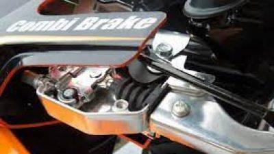 Combi Brake System (CBS) di Motor Skuter