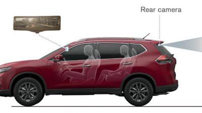 Nissan Smart Rear View Mirror, Teknologi Spion Pintar Nissan